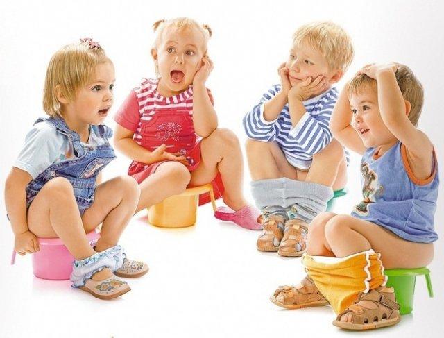Как правильно приучить ребенка к горшку?