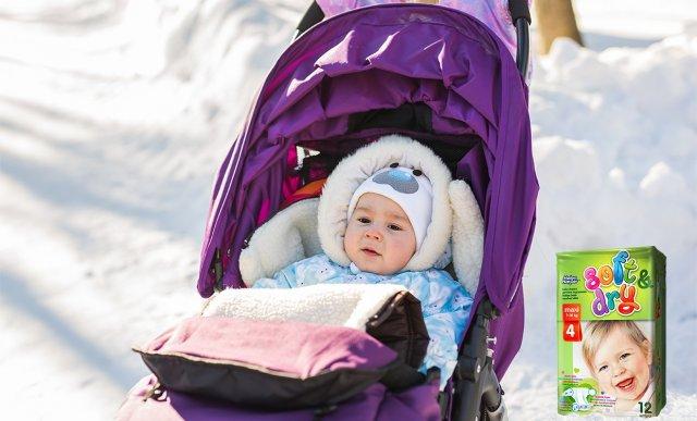 Helen Harper Soft&Dry — лучшие подгузники для зимних прогулок
