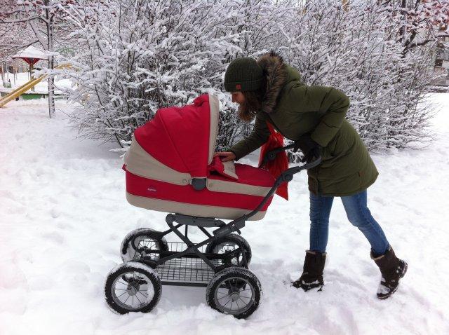 Зимові прогулянки з малюком