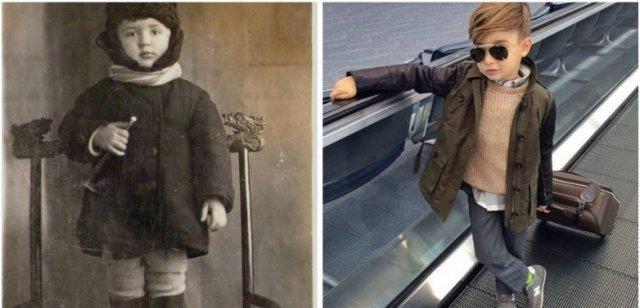 Поговорим о детской моде о том какой она была раньше и какой стала сейчас