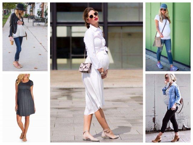 Обувь для беременных и стильных