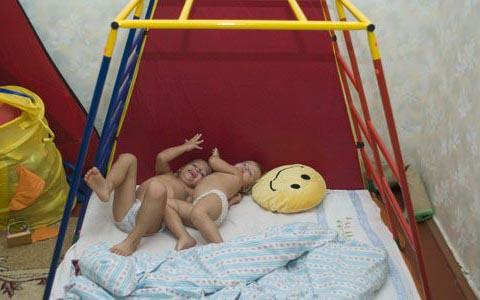 игровой комлпекс как место для сна